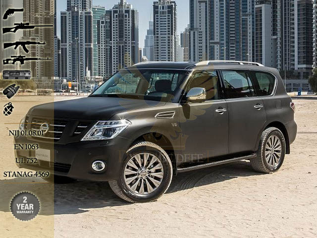 Armored Cars For Sale >> Armored Nissan Patrol Y62 For Sale in UAE Best Armoured Vehicles